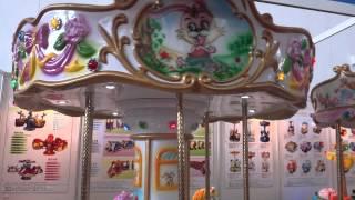 Детская карусель на 6 мест Веселая шестерка(Продажа развлекательного оборудования для парков развлечений и аттракционов, лунапарков, торгово-развлек..., 2013-11-12T09:59:38.000Z)