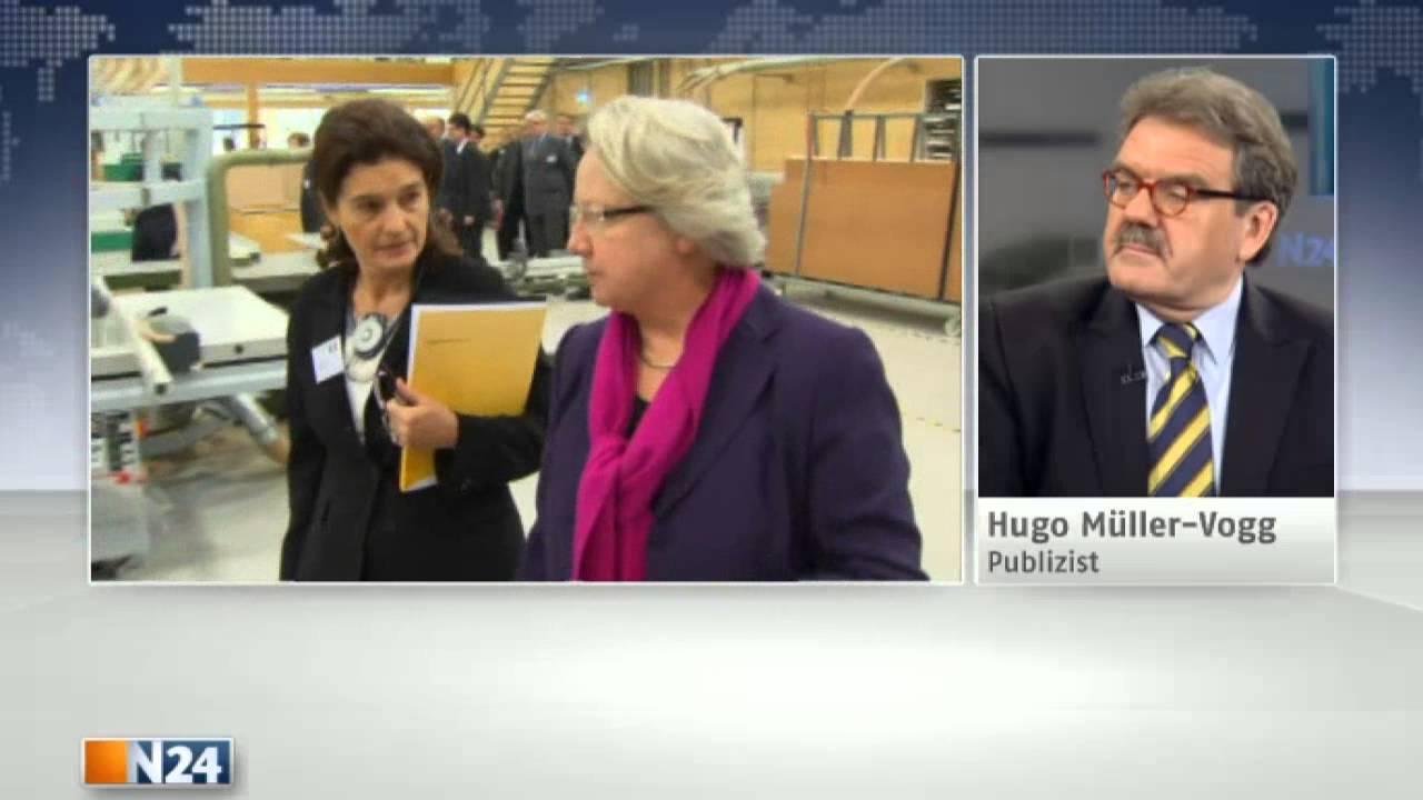 Uni erkennt Schavan Doktortitel ab - Hugo Müller-Vogg spricht Klartext