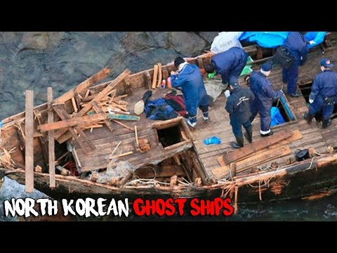 The North Korean Ghost Ships That Keep Washing Up In Japan