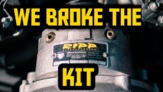 The Ripp Superchargers kit finally had a failure.......