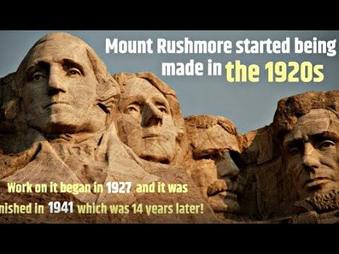 Mount rushmore facts classroom video for kids youtube for Mount rushmore history facts