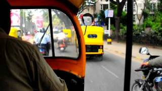 Bangalore, India - auto rickshaw ride