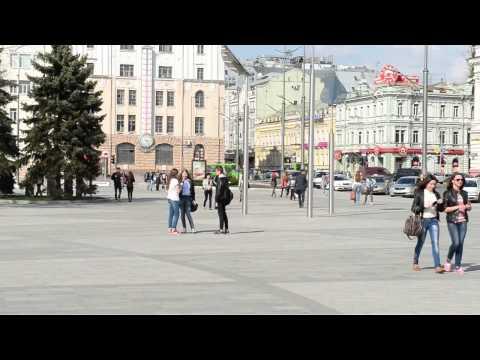 a Walk around Center of kharkov, 17 april 2014