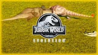 CERATOSAURUS DESTROYS A TRICERATOPS!!! FULL DINO ATTACK WITH BLOOD in Jurassic World Evolution!