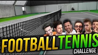 FOOTBALL TENNIS CHALLENGE - w/ IlluminatiCrew