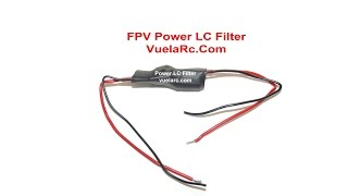FPV Power LC Filter