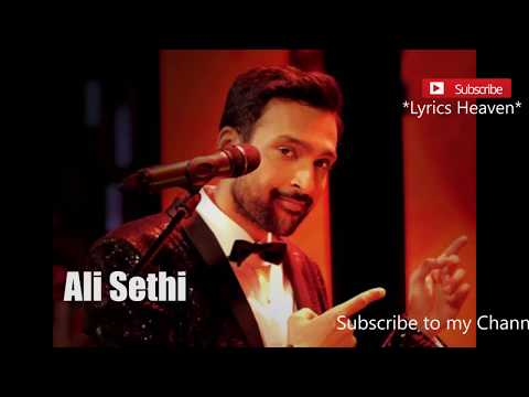 Chan Kithan By Ali Sethi | Lyrical Video | Full HD 1080p