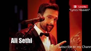 Chan Kithan By Ali Sethi   Lyrical Video   Full Hd 1080p