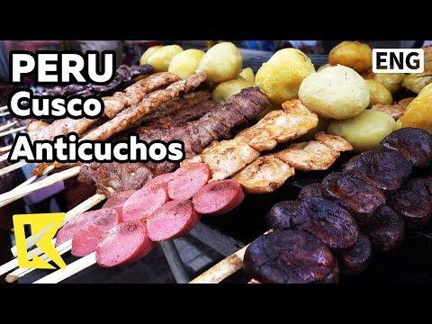 【K】Peru Travel-Cusco[페루 여행-쿠스코]안티쿠초스 꼬치구이/Santuranticuy festival/Anticuchos/Grilled Skewers
