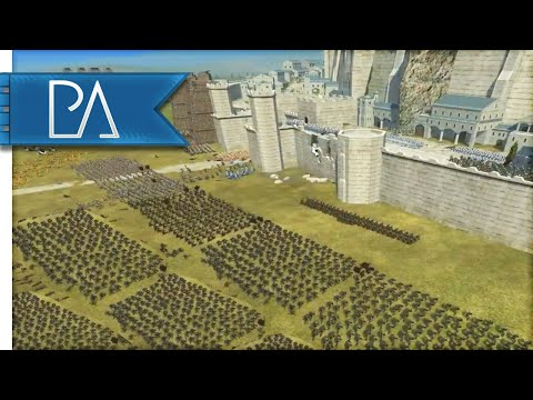 A RUTHLESS DEFENSE OF MINAS TIRITH - Lord Of The Rings Mod - Third Age: Reforged