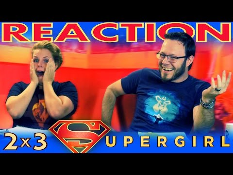 """Supergirl 2x3 REACTION!!  """"Welcome to Earth"""""""