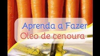 Oleo de Cenoura Para Cabelos - Aprenda a fazer!