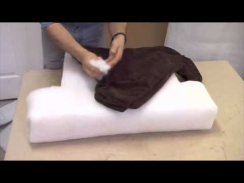 Upholstery tricks....the perfect cushion Mp3