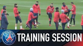 Paris Saint-Germain Training session NANTES VS PARIS SAINT-GERMAIN