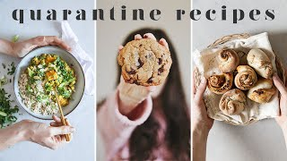EASY QUARANTINE RECIPES YOU HAVE TO TRY IN LOCKDOWN