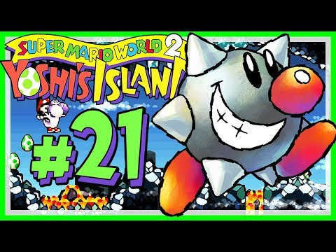 YOSHI'S ISLAND # 21 👶 Weshalb ich Scrolling-Level so liebe! [HD60] Let's Play Yoshi's Island