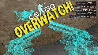 CAZANDO HACKERS NUEVA SERIE!!!! OverWatch CSGO#1