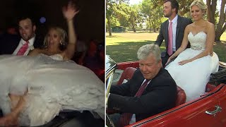 Bride and Groom Who Fell Off Convertible After Wedding Get a Redo