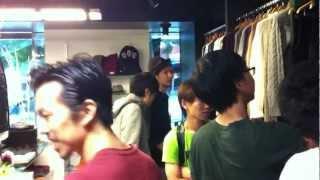 2012/8/11 VICTIM下鳥氏も参加した店内展示会の模様です。神戸 MUSEE TO...