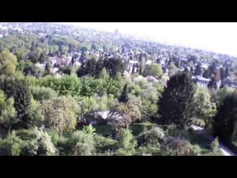 The AR.Drone is back! // Spring above Wiesbaden