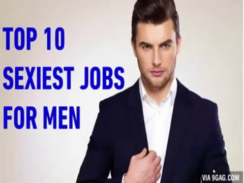 Sexiest jobs for men