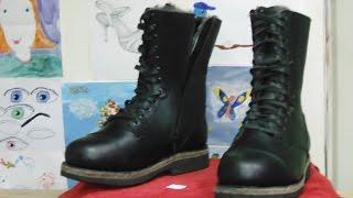 Делаем зимние берцы Сталкер Making super warm winter boots