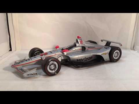 Review: 2018 Will Power #12 Verizon Indianapolis 500 Winner Dallara-Chevy 1/18 Greenlight Indycar