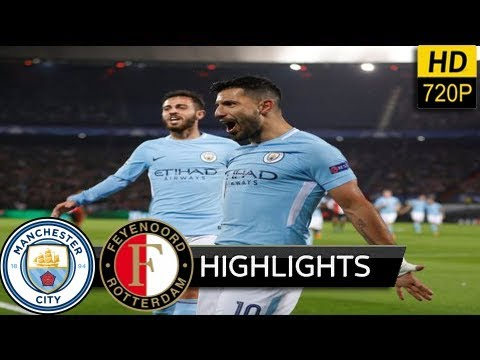 Manchester City vs Feyenoord Rotterdam 1-0 - extended Highlights & All Goals (UEFA) 21/11/ 2017 HD