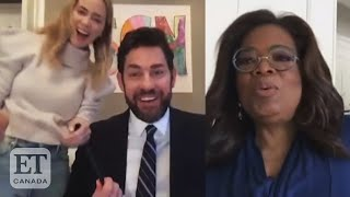 'Some Good News' Bloopers With Oprah, Emily Blunt, 'The Office'