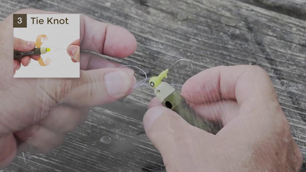 Tyepro tying tool making knots easier for fishing for Tyepro fishing tool