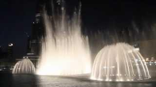 Dubai Dancing Fountain by.B-jay
