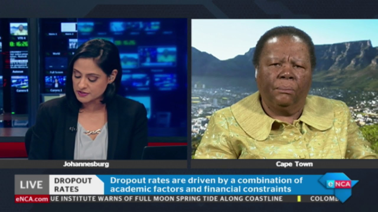 Pandor concerned about tertiary institution dropout rate