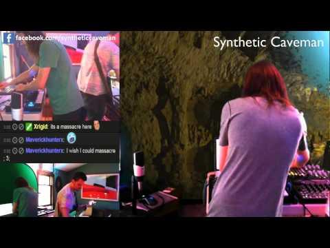 Synthetic Caveman Live Rehearsal w/ Dharma