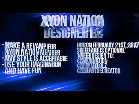 Xyon Nation's Designer Recruitment Challenge!