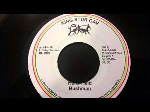 "Bushman - Herb Field - King Stur Gav 7"" W/ Version"