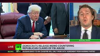 Democrats release memo countering Republican claims of FBI abuse thumbnail