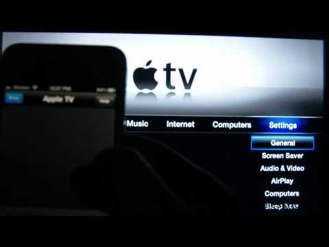 How to connect Apple TV to WiFi without Apple TV Remote