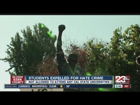 3 San Jose State University students expelled, face hate crime charges