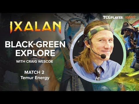 [MTG] Black-Green Explore   Match 2 VS Temur Energy