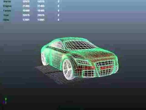 Voiture modelisation 3d youtube for 3d modelisation