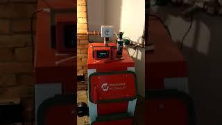 Система отопления дом 180 м2 с котлом Хайтстехник.