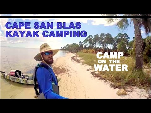 Kayak camping on CAPE SAN BLAS! Camp on the water