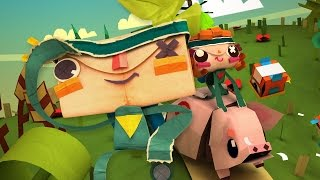 Tearaway Unfolded Gameplay Review (PS4)