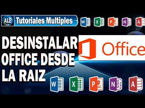 Como Desinstalar Microsoft Office Por Completo   Cualquier Versión