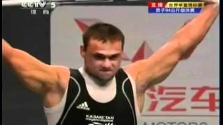 Ilya Ilin 184KG Snatch and 226KG Clean and Jerk @94KG