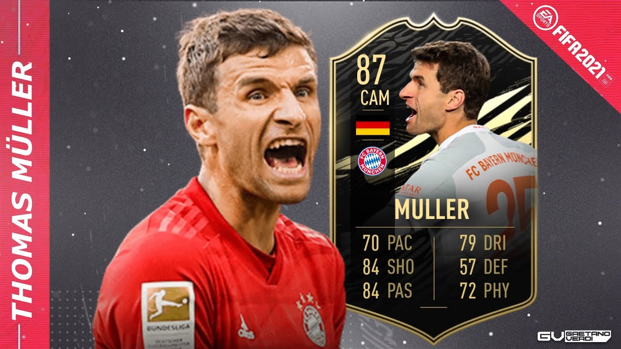 THOMAS MÜLLER 87 - The GOAT is back! 😎 Maschine 💪 - FIFA 21 Player Review  - YouTube