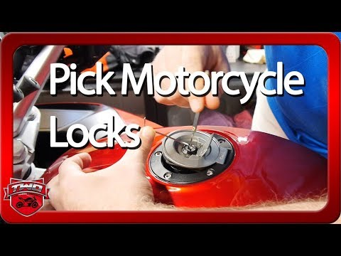 How To Pick A Motorcycle Lock