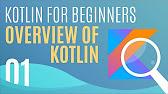 Kotlin Beginner Tutorials [PREVIEW] - YouTube
