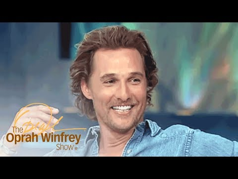 What Matthew McConaughey's Mom Told Him About Daily Gratitude | The Oprah Winfrey Show | OWN