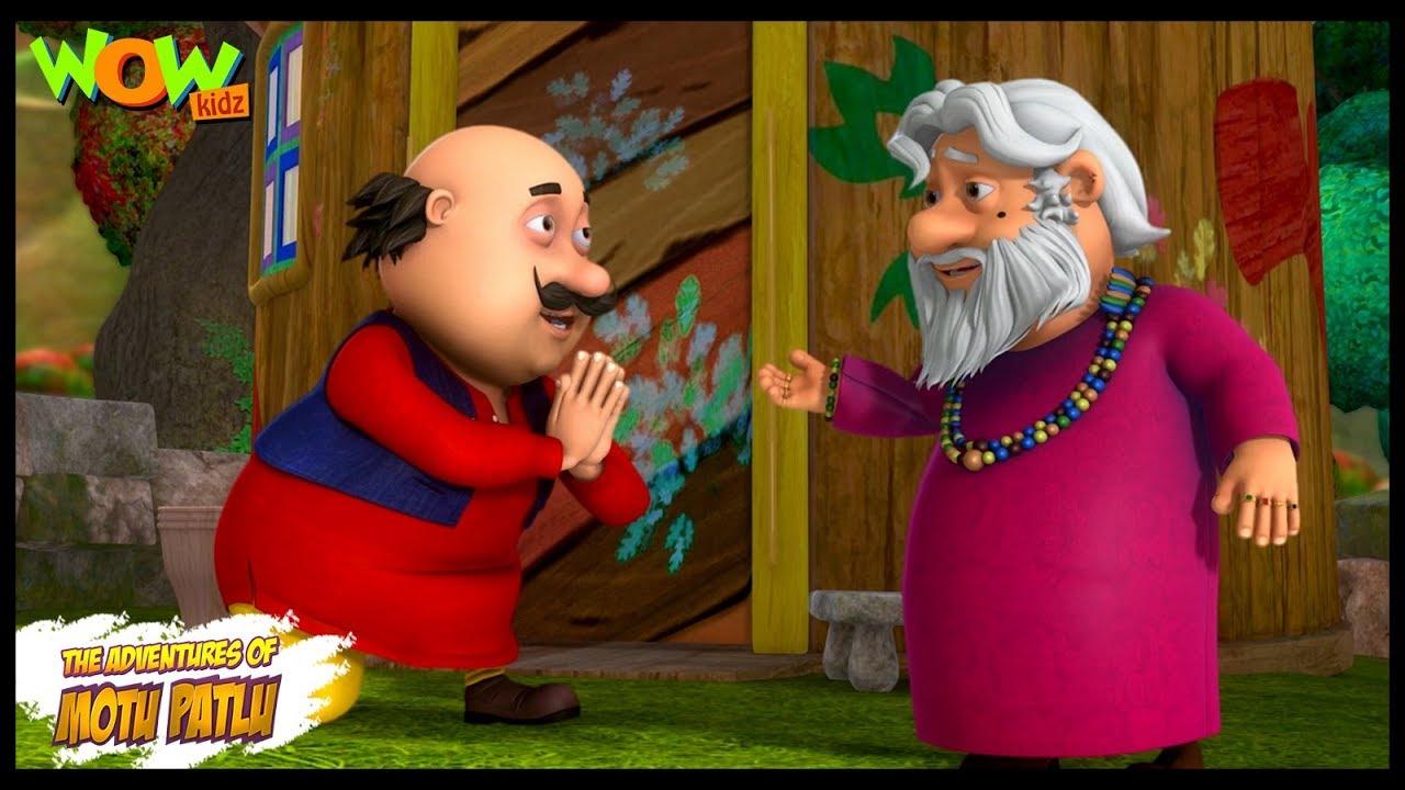 Motu Patlu New Episodes | Cartoons | Kids TV Shows | Ghoonse Waaley Baba | Wow Kidz